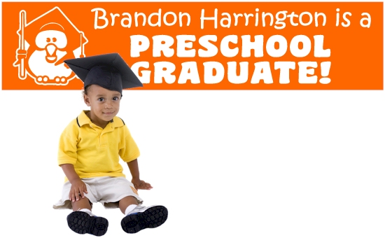 Preschool Graduation Banners