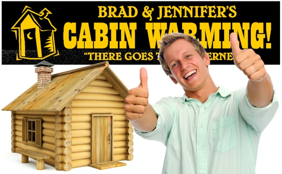 Cabin Warming Banners