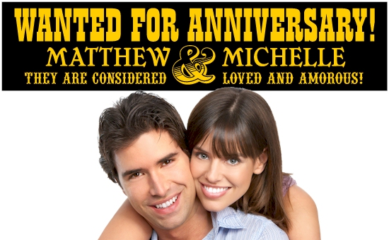 Funny Wedding Anniversary Banners