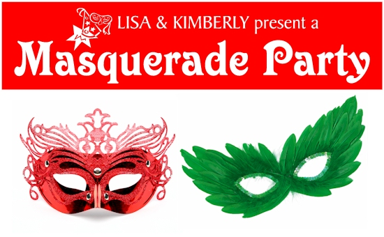 Masquerade Party Banners